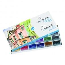 Akvarelė dailininkui Sonet, 24 spalvų