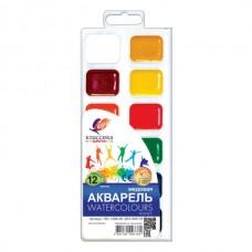 Akvarelė Luč Klasika, 12 spalvų