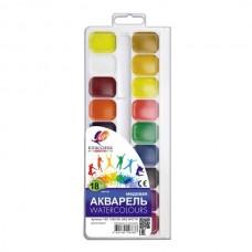 Akvarelė Luč Klasika, 18 spalvų