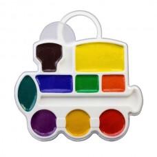 Akvarelė vaikams Luč Garvežiukas, 9 spalvų
