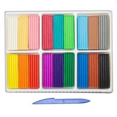 Plastilinas Luč Klasika 18 spalvų