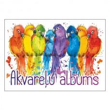 Piešimo albumas akvarelei ABC A3 15 lapų 200 gr/m²
