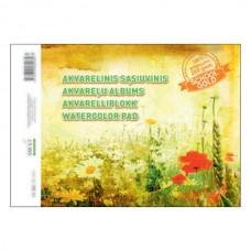 Piešimo albumas akvarelei SMLT A4 10 lapų 210 gr/m²