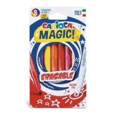 Flomasteriai Carioca Magic Erasable, 8 spalvų