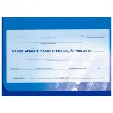 Kasos aparato žurnalas horizontalus, A4, 2-jų dalių viršelis, skirtas įmonėms