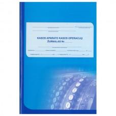 Kasos aparato žurnalas vertikalus, A4, 2-jų dalių viršelis, skirtas įmonėms