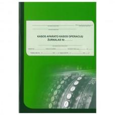 Kasos aparato žurnalas vertikalus, A4, 3-jų dalių viršelis, skirtas įmonėms