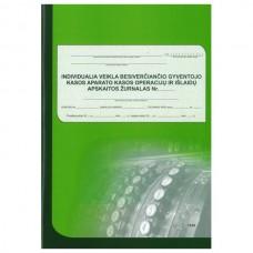 Kasos aparato žurnalas vertikalus, A4, 3-jų dalių viršelis, skirtas individualiai veiklai