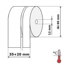 Kasos aparato juosta 35+20 mm 40 m Termo (skersmuo iki 60 mm)