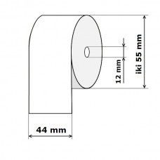 Kasos aparato juosta 44 mm 30 m Ofset (skersmuo iki 55 mm)
