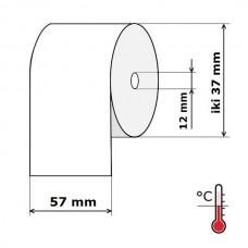 Kasos aparato juosta 57 mm 15 m Termo (skersmuo iki 37 mm)