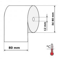 Kasos aparato juosta 80 mm 80 m Termo (skersmuo iki 80 mm)