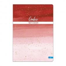 Sąsiuvinis Lastva Ombre A4 96 lapai, langeliais