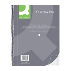 Sąsiuvinis Q-connect KF A4 80 lapų, langeliais, su spirale