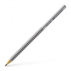 Grafitinis pieštukas tribriaunis Faber-Castell Grip 2001 HB, be trintuko