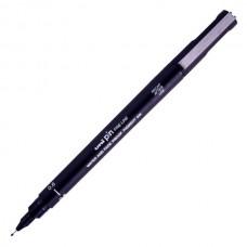 Grafinis rašiklis UNI PIN 200 0,6mm, juodas