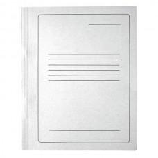 Segtuvas kartoninis su įsegėle A4, baltas