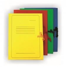 Segtuvas kartoninis su raišteliais A4, spalvotas
