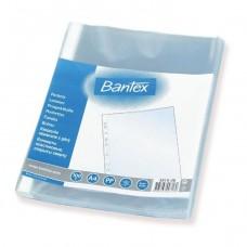 Įmautė dokumentams A4 BANTEX, skaidri (100 vnt.)